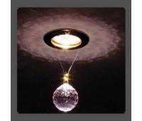 Точечный светильник Kantarel CD 001.3.9 rosaline  Золотой (пр-во Россия)