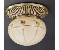 Накладной светильник Reccagni Angelo PL 7703/1 Bronzo arte  Бронза (пр-во Италия)