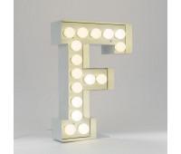 Декоративная буква с подсветкой  Seletti Vegaz 01408_F  Белый (пр-во Италия)