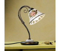Настольная лампа Ferroluce C365 LU  Черная медь (пр-во Италия)