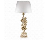 Настольная лампа  Roberto Giovannini 896 G105 XVI C. Renaissance Italian  Леггированное серебро (пр-во Италия)