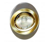 Встраиваемый светильник Feron 108T  Хром, золото (пр-во Китай)