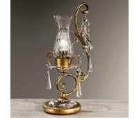 Настольная лампа MM Lampadari 6468/L1  Состаренно золотисто-коричневый (пр-во Италия)