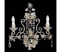 Бра   Epoca Lampadari 1424/A3 dec. 401 smoke crystal  Слоновая кость (пр-во Италия)