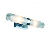 MIBO WALL UP-DOWN светильник настенный IP21 для 2-x ламп G9 по 25Вт, хром / стекло частично матовое SLV 151282  (пр-во Германия)