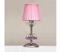 Лампа настольная DOGE LUCE Venice A058T01CR Pink  Хром (пр-во Италия)