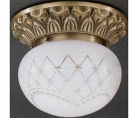 Накладной светильник Reccagni Angelo PL 7710/1 Bronzo arte  Бронза (пр-во Италия)
