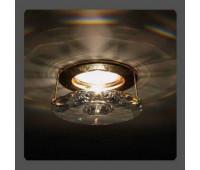 Точечный светильник Kantarel CD 008.3.1 crystal  Золотой (пр-во Россия)