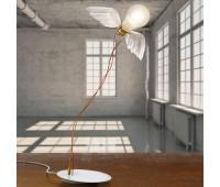 Настольная лампа  Ingo Maurer Lucellino LED TRI-R 4817000  Белый, латунь (пр-во Германия)