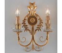 Бра   Epoca Lampadari 1446/A2 dec. 734  Античная, золотая фольга, светлое золото (пр-во Италия)