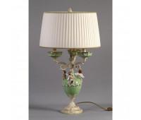 Настольная лампа  Nervilamp 935/3C/CG Green Ivory  Слоновая кость (пр-во Италия)