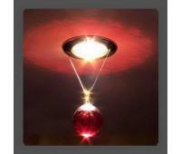 Точечный светильник Kantarel CD 001.3.6 bordeaux  Золотой (пр-во Россия)