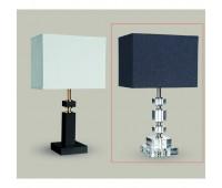 Настольная лампа Lights Dettagli lights Brick BR11-11C102  Никель, прозрачный (пр-во Италия)