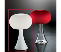 Лампа настольная IDL 9016/2TLG satin white  Хром (пр-во Италия)