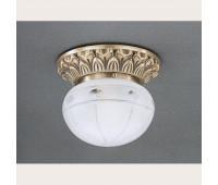 Накладной светильник Reccagni Angelo PL 7714/1 Bronzo arte  Бронза (пр-во Италия)