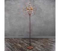Торшер Loft IT LOFT1897F  Состаренный коричневый,прозрачный (пр-во Испания)