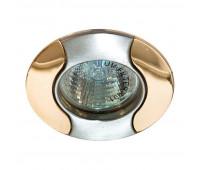 Встраиваемый светильник Feron 020T art.17680  Титан, золото (пр-во Китай)