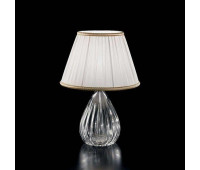 Настольная лампа Sylcom 1396 CR + TOP 1462/35 ARG  Позолоченный, прозрачный (пр-во Италия)