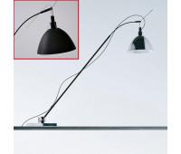 Настольная лампа  Ingo Maurer Max. Kugler 1707300  Черный, серый (пр-во Германия)