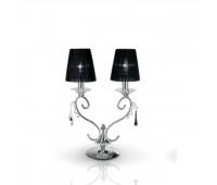 Настольная лампа Masiero Renzo Del Ventisette LSG 14107/2 CP DEC. CROMO  Хром (пр-во Италия)