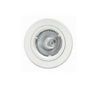 Точечный светильник  Voltolina(Classic Light) 700 bianco fisso  Белый (пр-во Италия)