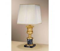 Настольная лампа  Arizzi 535/1/L  Состаренное французское золото, черный (пр-во Италия)
