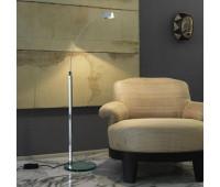Торшер Fontana Arte 3016+3018  Хром, прозрачный (пр-во Италия)