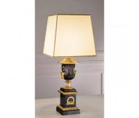 Настольная лампа  Arizzi 533/1/L oro francese  Состаренное французское золото, темная матовая бронза (пр-во Италия)