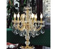Настольная лампа  Voltolina(Classic Light) 1043.006  Золото, прозрачный (пр-во Италия)