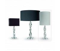 Настольная лампа Lights Dettagli lights Rock RK12-11A303  Никель, прозрачный (пр-во Италия)