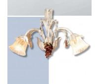 Бра  Passeri  A. 6030/2 Dec. 026  Слоновая кость (пр-во Италия)
