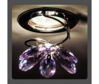 Точечный светильник Kantarel CD 015.2.2/5 violet  Хром (пр-во Россия)