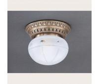 Накладной светильник Reccagni Angelo PL 7724/1 Bronzo arte  Бронза (пр-во Италия)