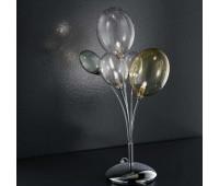 Лампа настольная IDL 380/3L Multicolour  Хром (пр-во Италия)