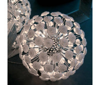 Настольная лампа Rugiano 8062/60  Хром, белый (пр-во Италия)