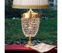 Настольная лампа Masiero Elegantia TL2G G03-G05 6005/TL2 G  Матовое и блестящее (галиваническое) золото g03-g05 (пр-во Италия)