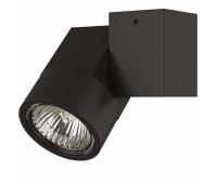 051027 Светильник ILLUMO HP16X1  ЧЕРНЫЙ (в комплекте) Lightstar 051027  Черный (пр-во Италия)