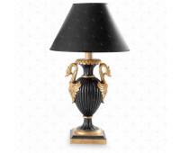 Настольная лампа  Roberto Giovannini 585 A041 Beg. XIX C. Empire French  Черный, золото (пр-во Италия)