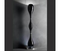 Торшер  Masiero Luxury Black Grace/STL1+6  Черный, хром, инкрустирован кристаллами swarowski (пр-во Италия)