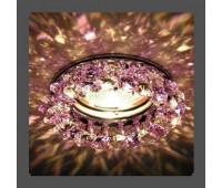 Точечный светильник Kantarel CD 029.3.1 crystal  Золотой (пр-во Россия)