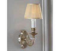 Настольная лампа   Epoca Lampadari 911/A1P TC 3021/F.12 shade dec. 840  Античная серебряная фольга (пр-во Италия)