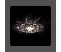 Точечный светильник Kantarel CD 028.3.1 crystal MR11  Золотой (пр-во Россия)