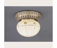 Накладной светильник Reccagni Angelo PL 7723/1 Bronzo arte  Бронза (пр-во Италия)