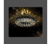 Точечный светильник Kantarel CD 029.2.1 crystal AB  Хром (пр-во Россия)
