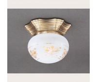 Накладной светильник Reccagni Angelo PL 7735/1 Bronzo arte  Бронза (пр-во Италия)