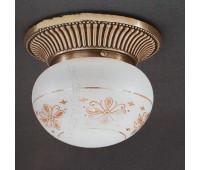 Накладной светильник Reccagni Angelo PL 7705/1 Bronzo arte  Бронза (пр-во Италия)