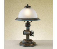 Настольная лампа Lustrarte 056-0625  Зеленый антик (пр-во Португалия)