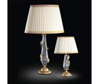 Настольная лампа Renzo Del Ventisette LSP 13926/1 DEC. 055  Прозрачный, золото, античное серебро (пр-во Италия)