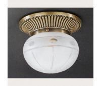 Накладной светильник Reccagni Angelo PL 7704/1 Br Art  Бронза (пр-во Италия)