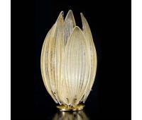 Лампа настольная IDL 430/1L foglia oro    Светлое золото (пр-во Италия)